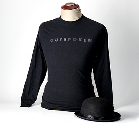 Outspoken Long Sleeve Crew, Unisex - $34.95